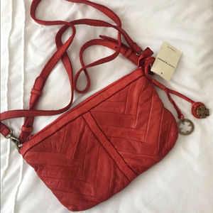 NWT LUCKY BRAND SHILOH LEATHER CROSSBODY BAG